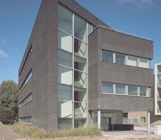 Nieuwbouw kantoorgebouw indutil