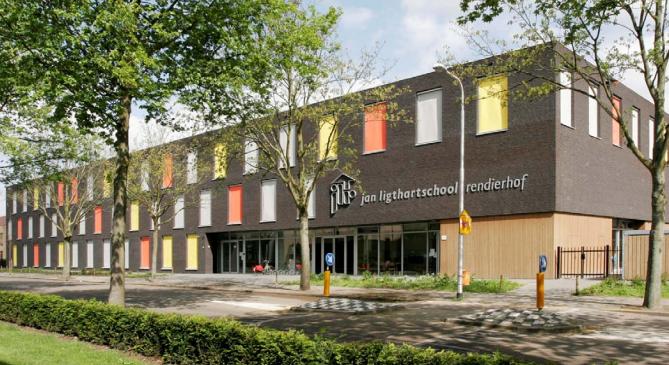 Jan ligthartschool rendierhof te tilburg